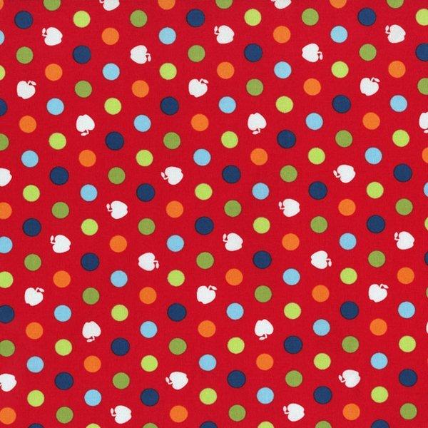 Apple Hill Farm Polka Dots Red