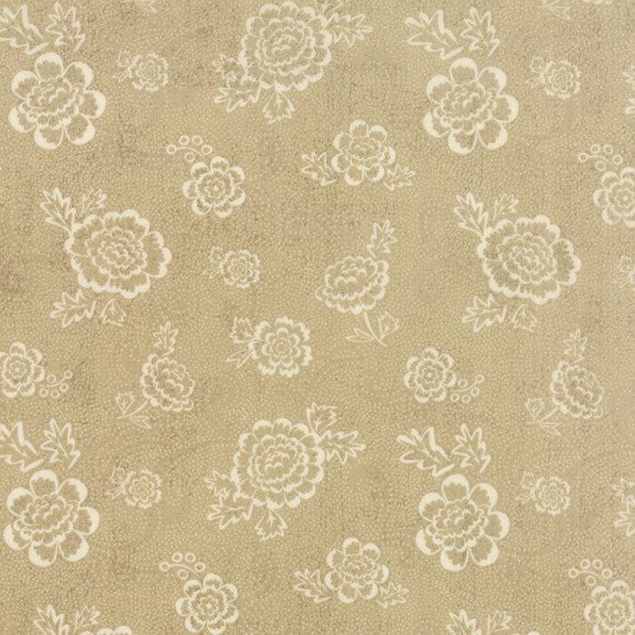 Black Tie Affair Whimsy Floral Cream Tan