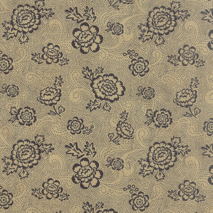 Black Tie Affair Whimsy Floral Black Tan
