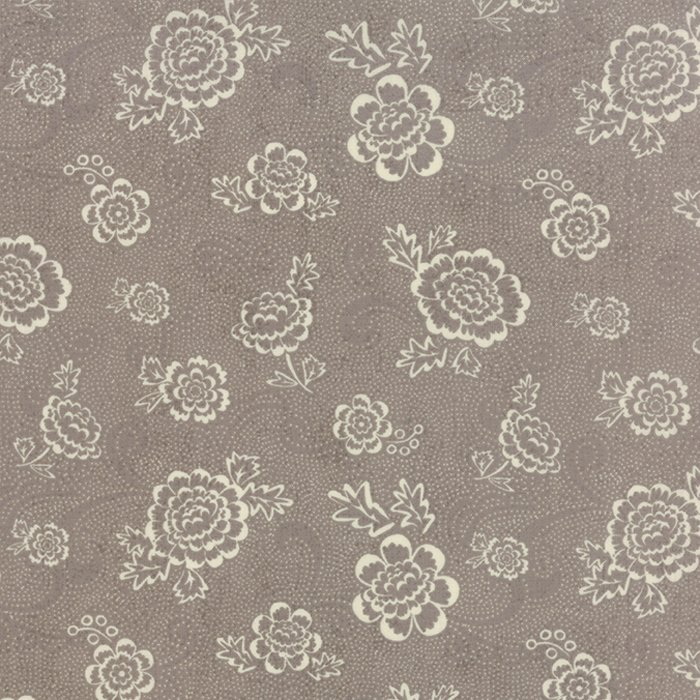 Black Tie Affair Whimsy Floral Cream Grey