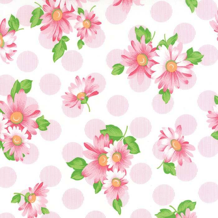 Sew & Sew Doopsy Daisey Pink