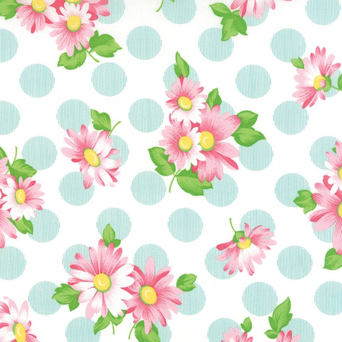 Sew & Sew Doopsy Daisey Pink Blue