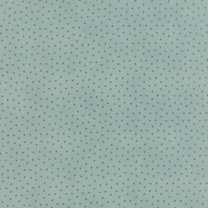 Color Daze Prints Falling Star Aqua