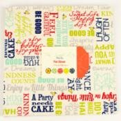 The Sweet Life Prints Layer Cake