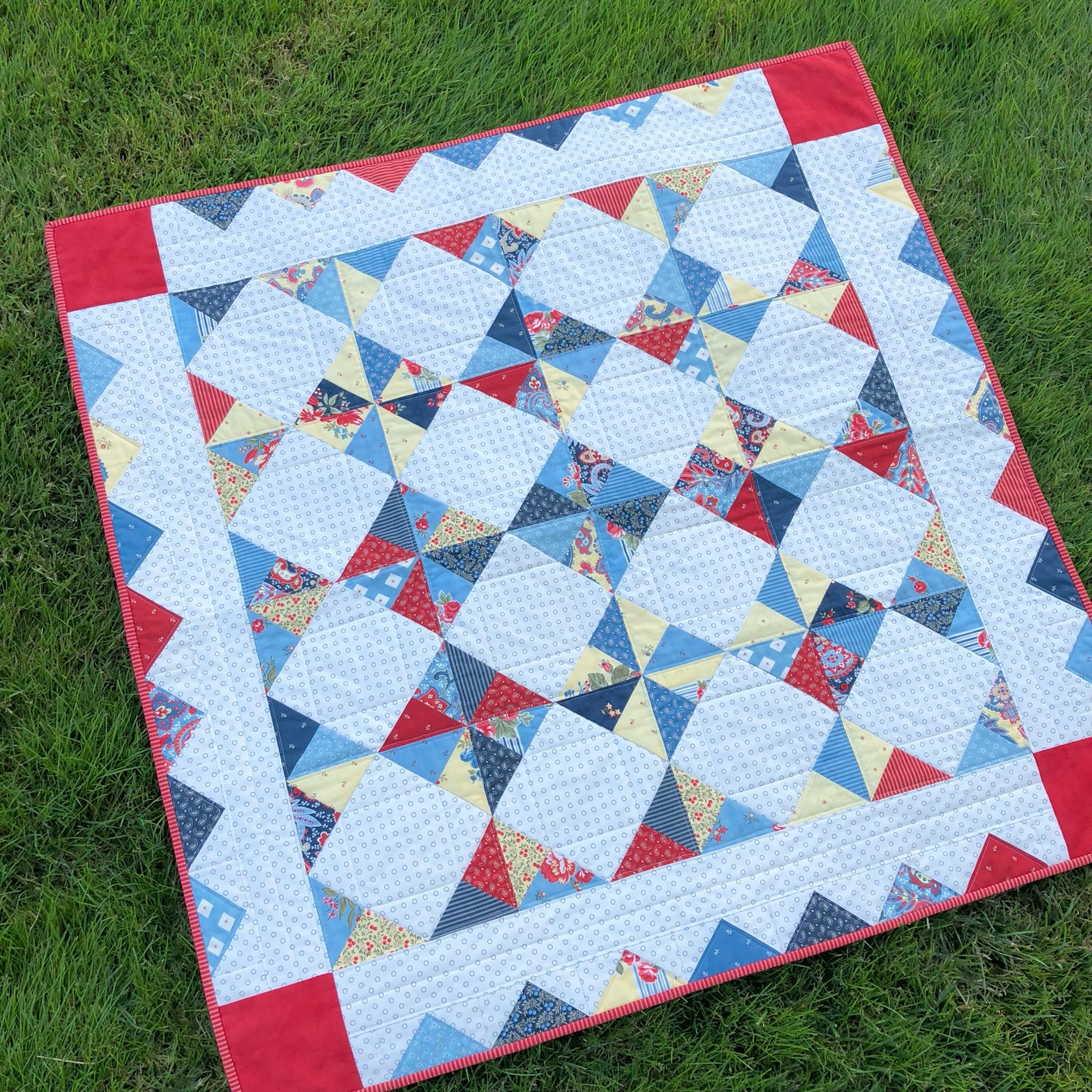 Charmalicious Quilt Kit