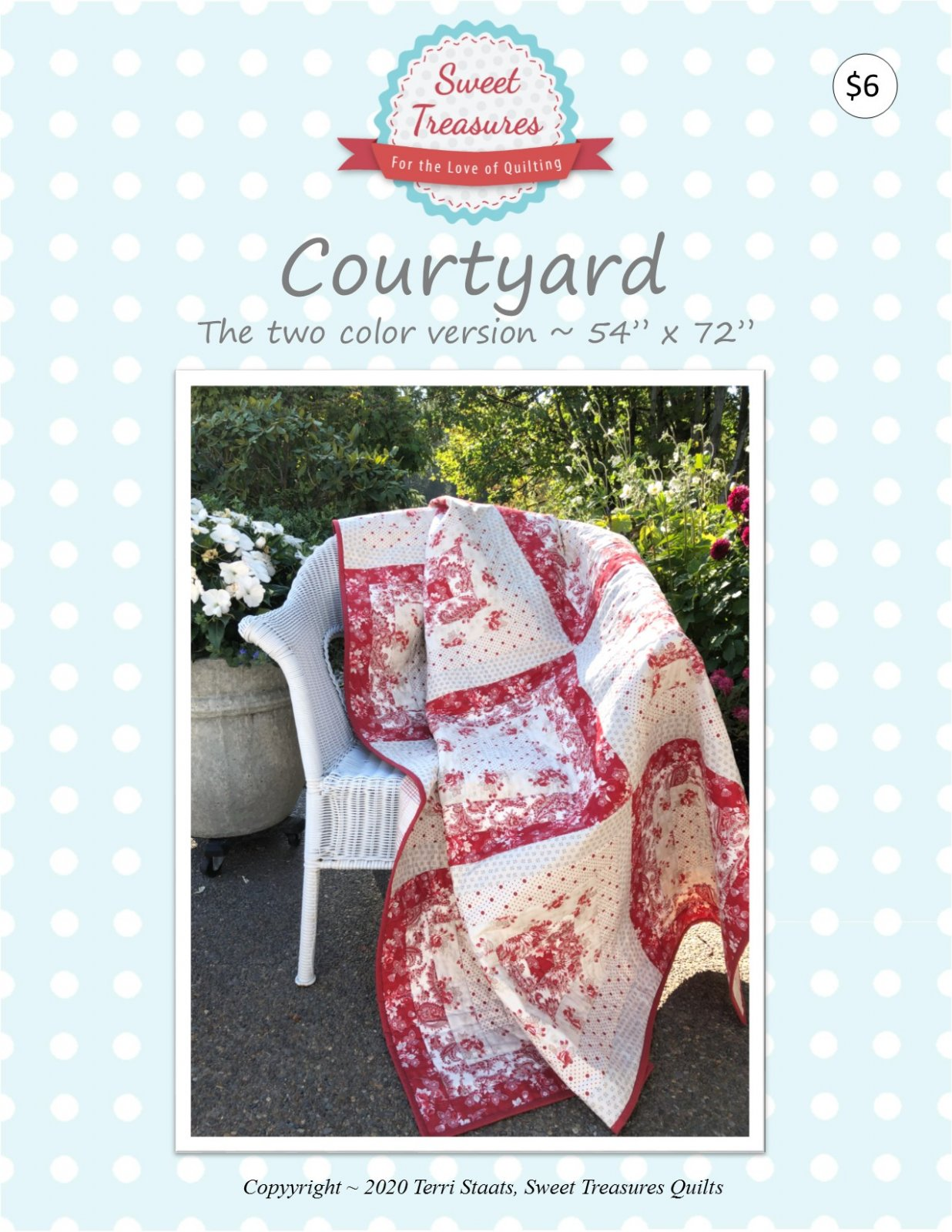 Courtyard ~ PDF Pattern