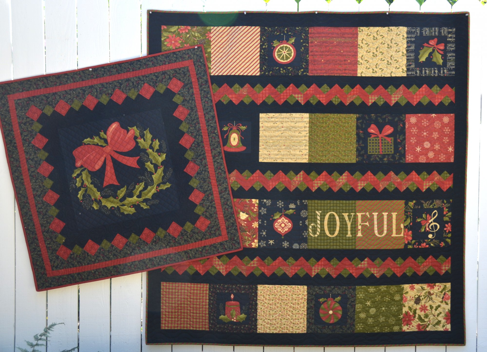 Delightful December Quilt Kit