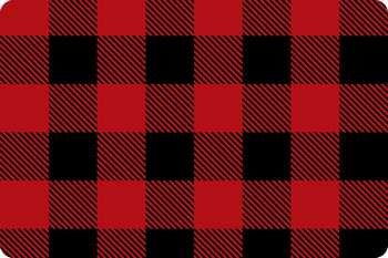Buffalo Check Scarlet/Black Cuddle