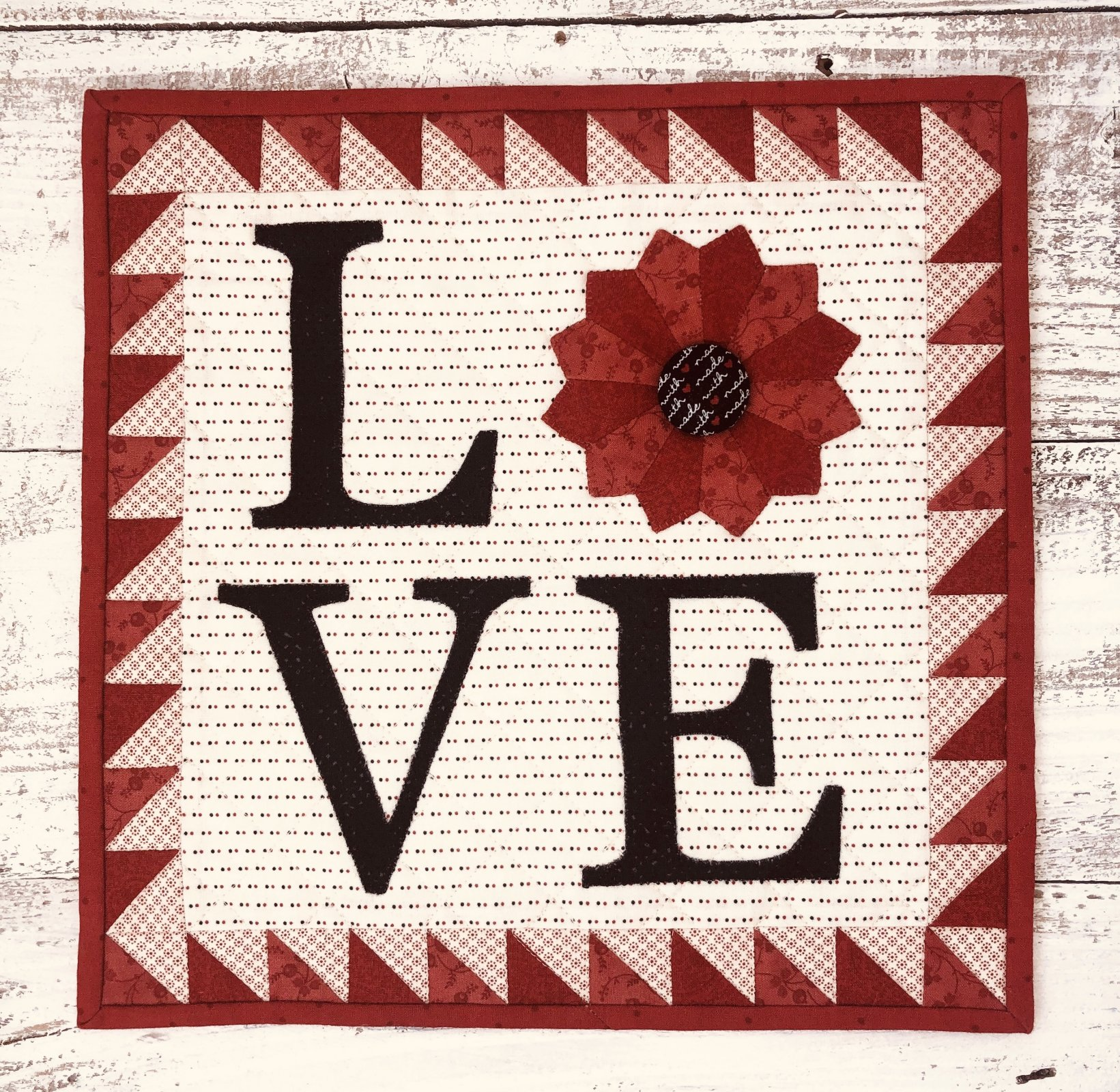 Dresden Love Mini Quilt Kit