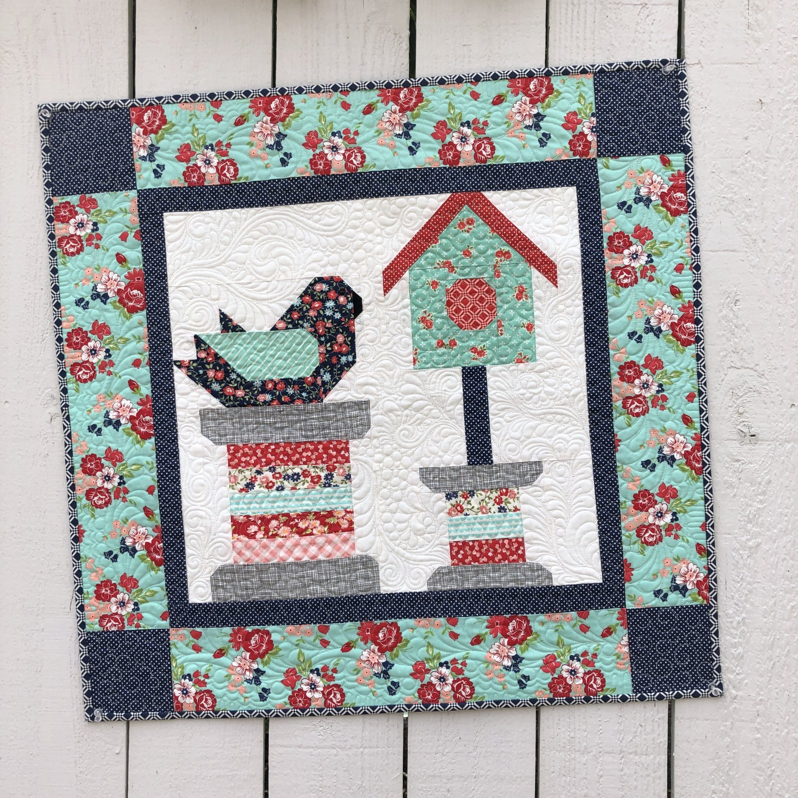 Feathered Friends Quilt Kit