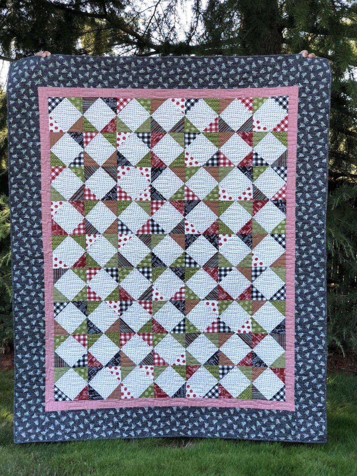 Grandma's Picnic Quilt Kit