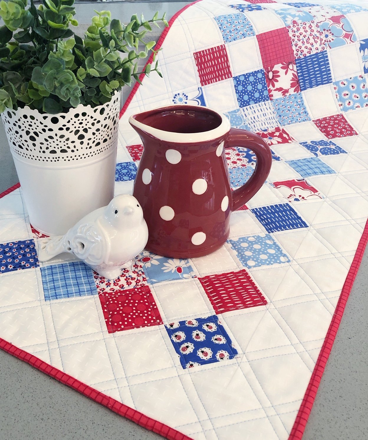 Hopscotch Kit - Back Porch fabrics