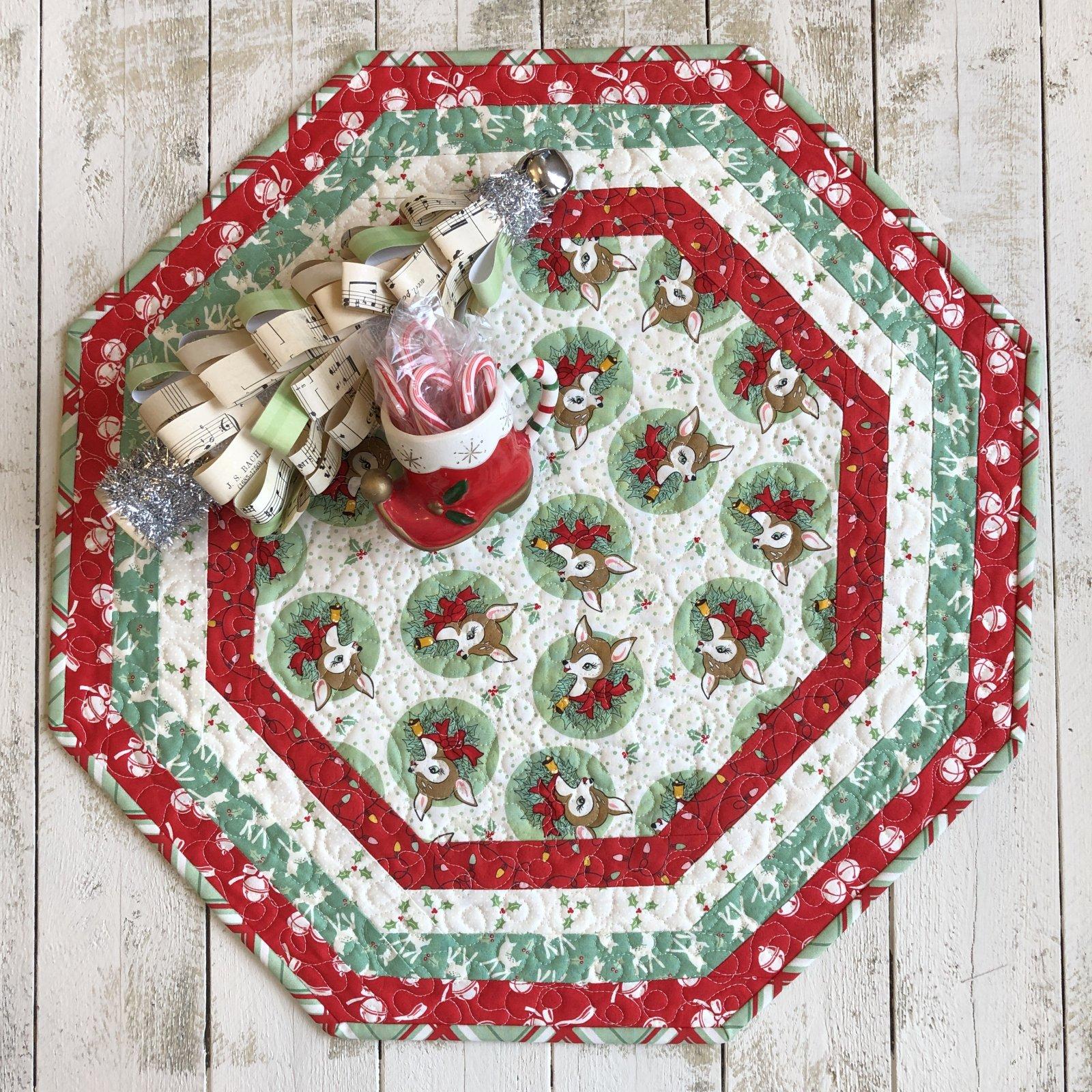 Centerpiece Tablemat - Deer Christmas (G)