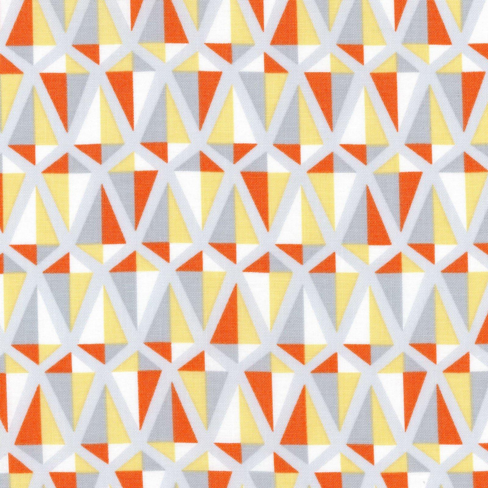 Cycles of Life Kite Mosaic Orange