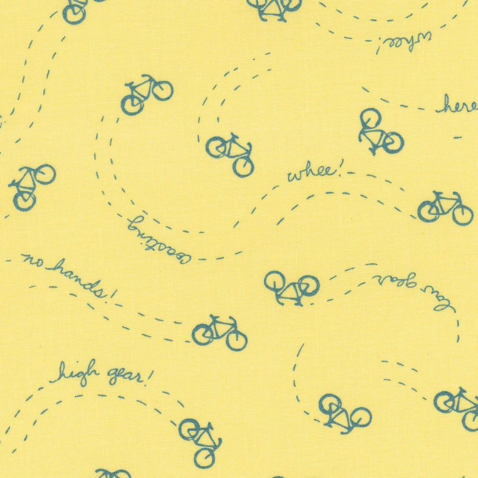 Cycles of Life Wheelie Yellow