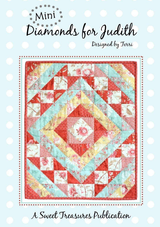 Mini Diamonds for Judith pattern