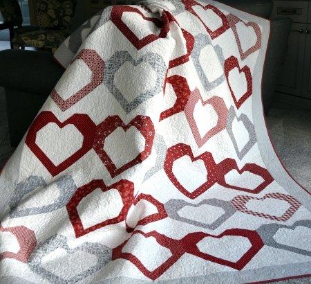 Open Heart Quilt Kit