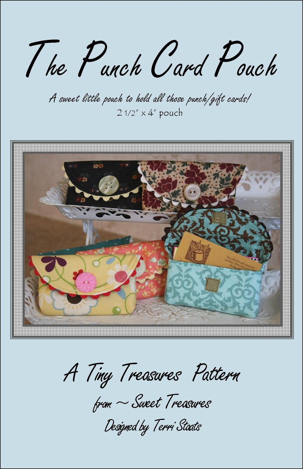 The Punch Card Pouch pattern