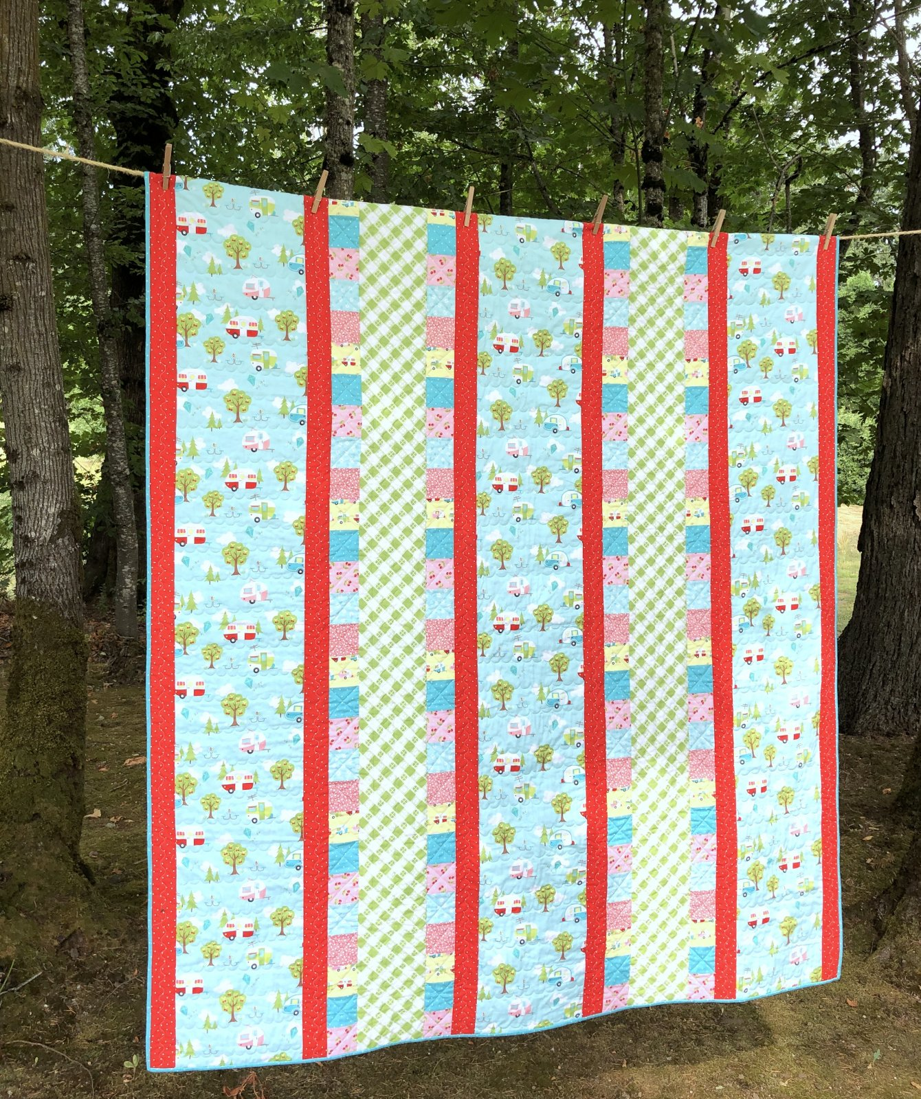 Quick n Cozy Quilt Kit (Glamper-licious)