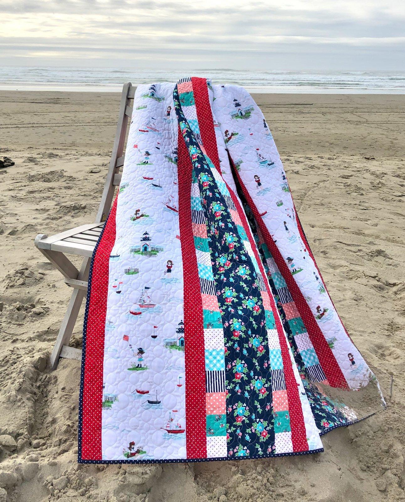 Quick n Cozy Quilt Kit (Seaside)