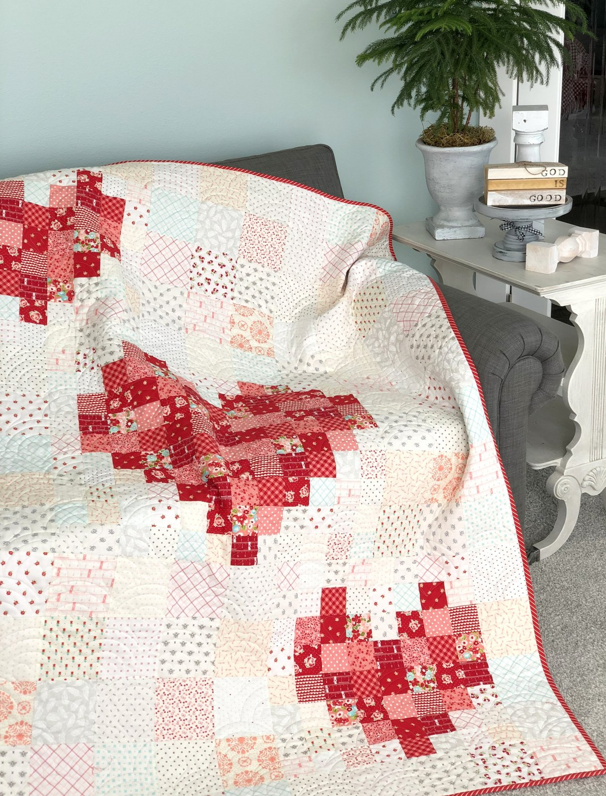 Ruby's Love! Quilt Kit