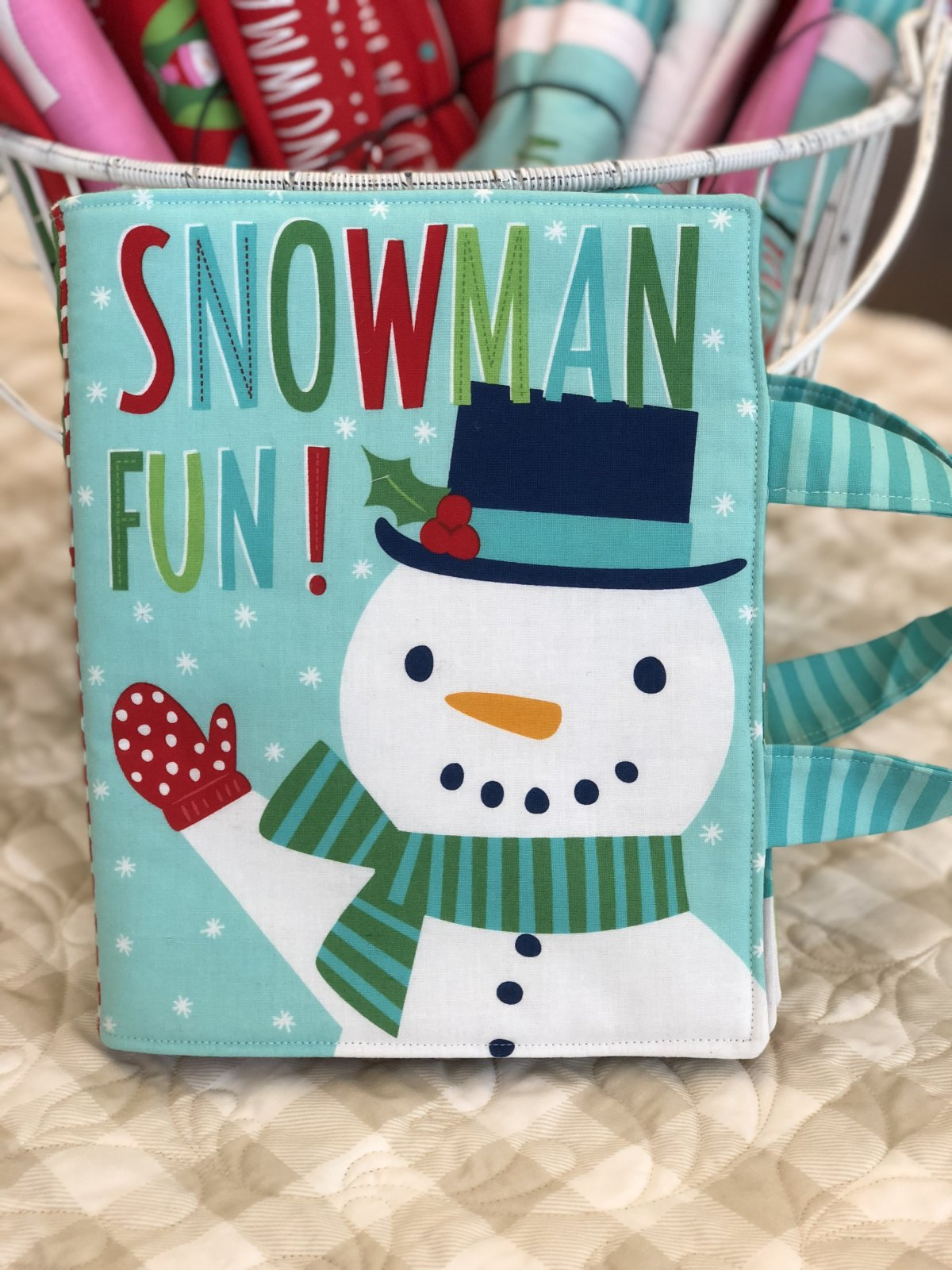Snowman Fun Book - Snow Day Panel