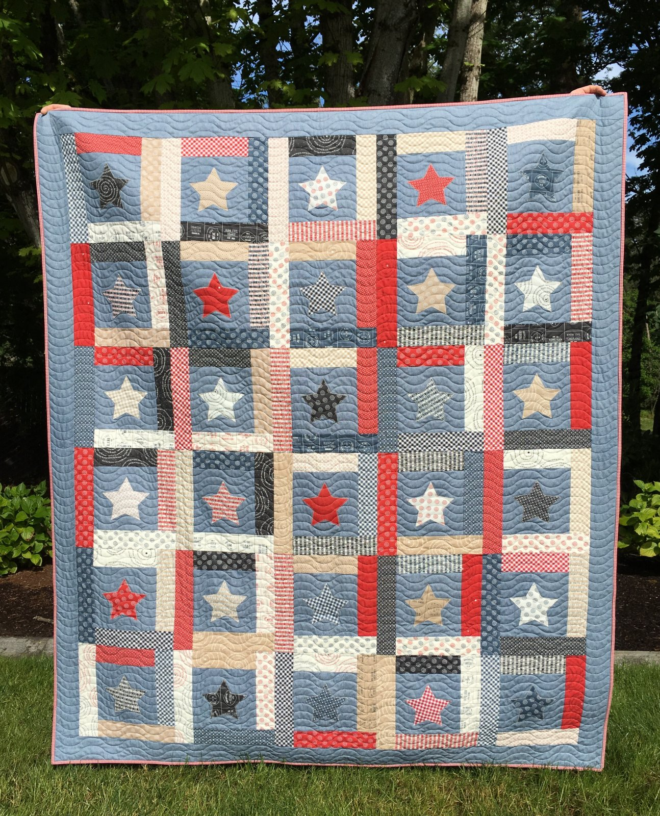 Stars of Glory quilt kit