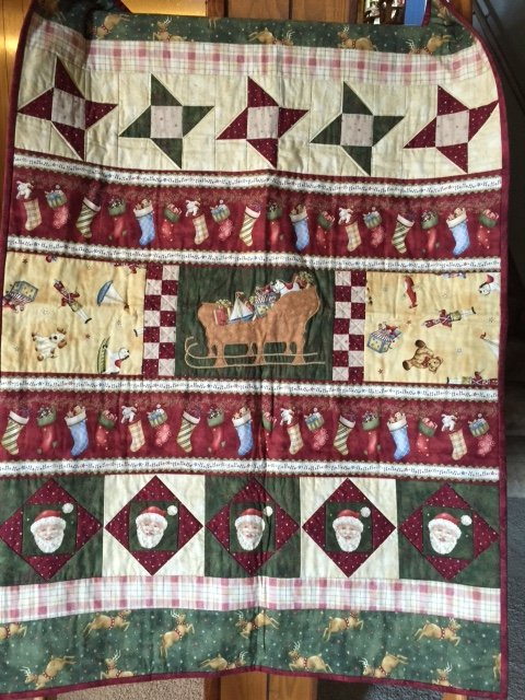 Vintage Christmas Throw