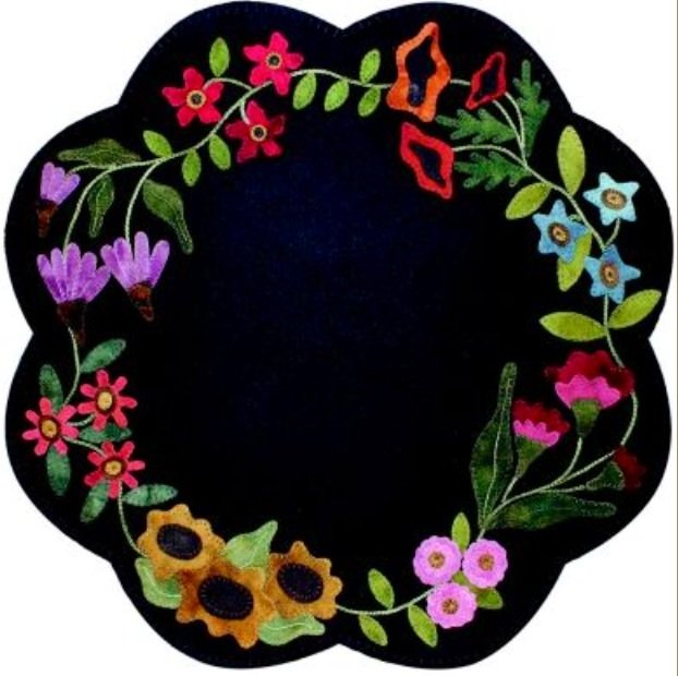 Garden Blooms Table Mat
