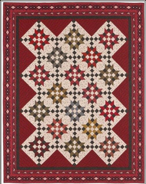 Crossroads A Civil War Inspired Quilt Pattern Awesome Civil War Quilt Patterns