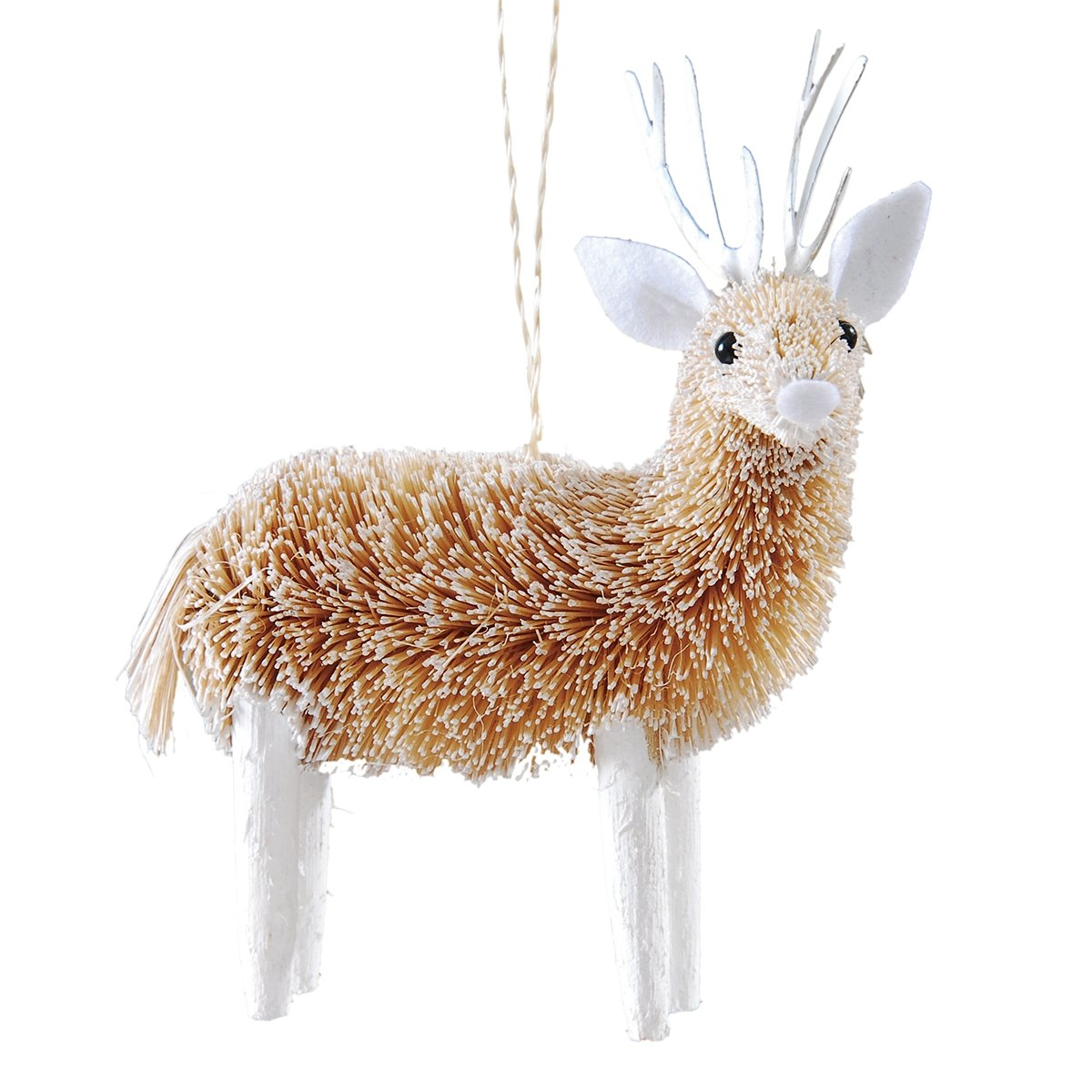 Ornament - Frosted Deer