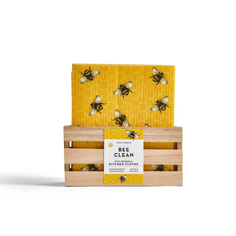 Eco-Friendly Swedish Kitchen Cloths - Bee Clean