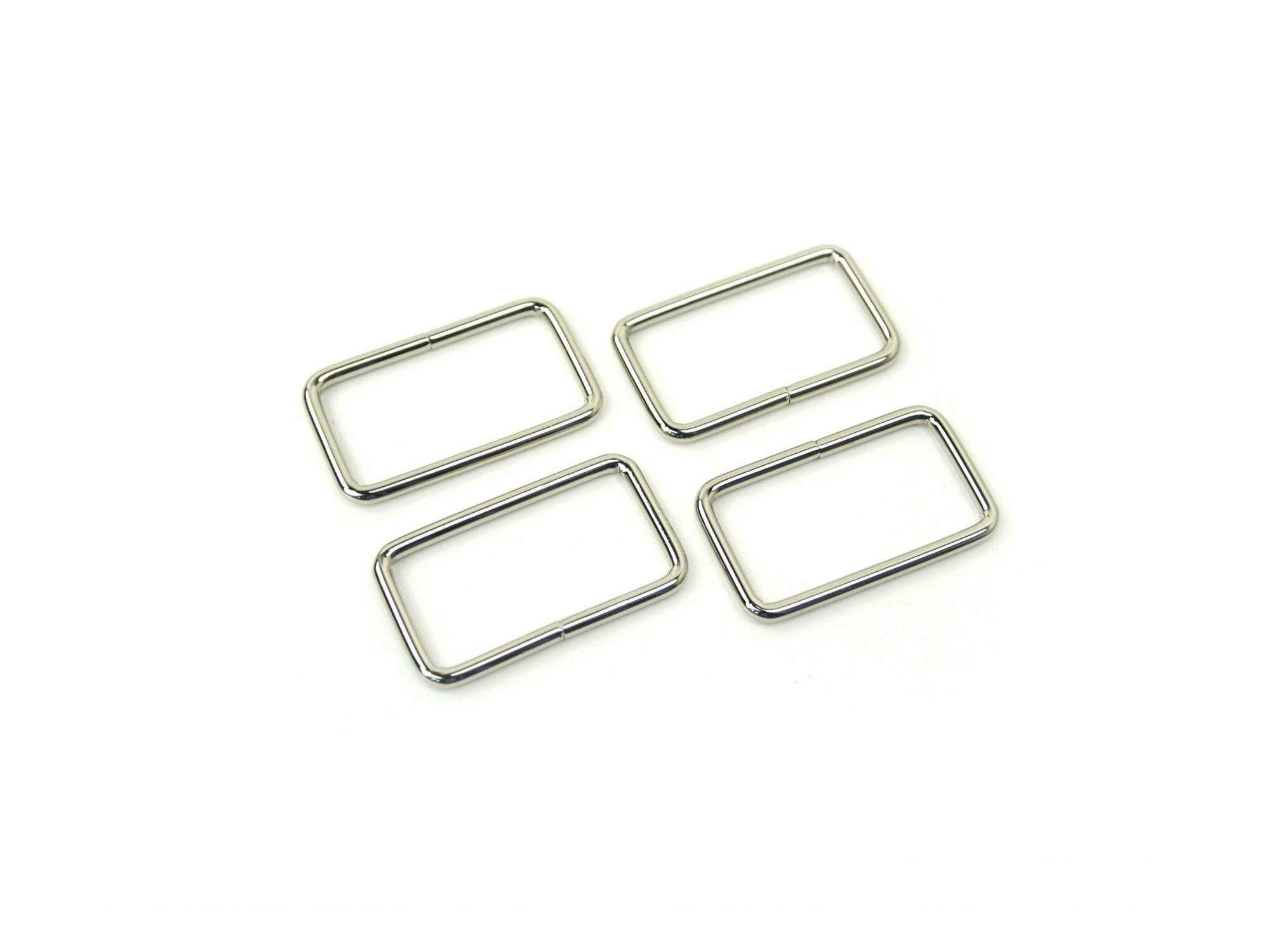 Rectangle Ring - 1 1/2 Silver