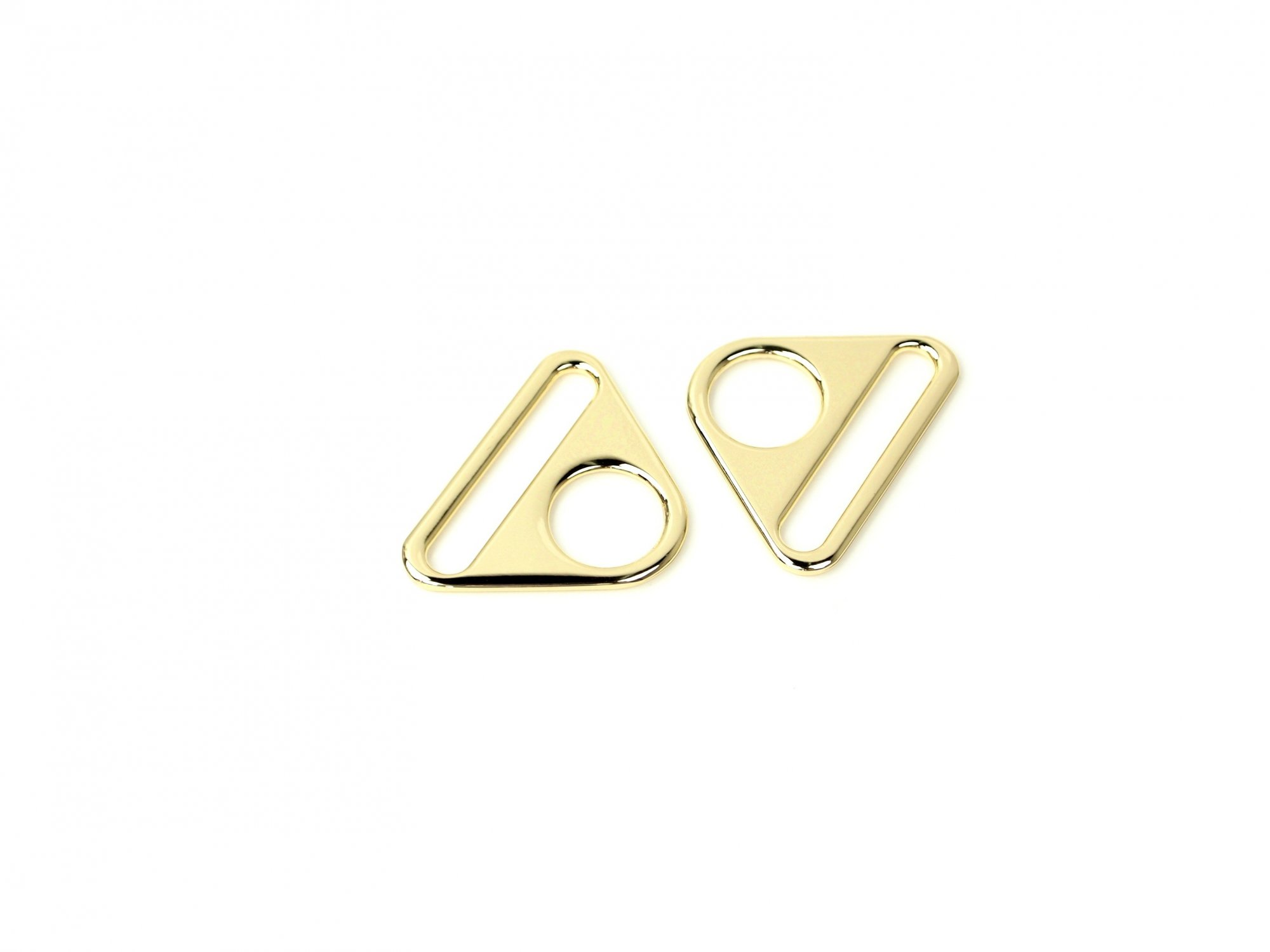Triangle Ring - 1 1/2 - Gold