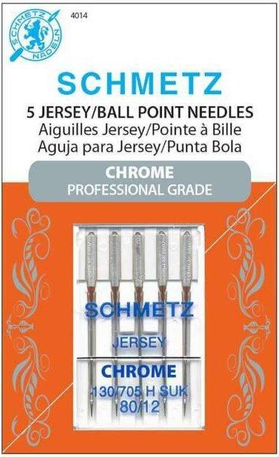 Schmetz Chrome Needles - Jersey 80/12