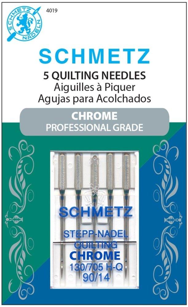 Schmetz Chrome Needles - Quilting 90/14