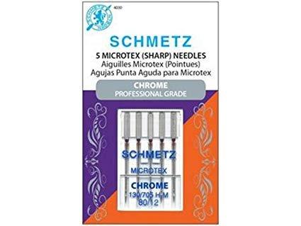 Schmetz Chrome Needles - Microtex 80/12