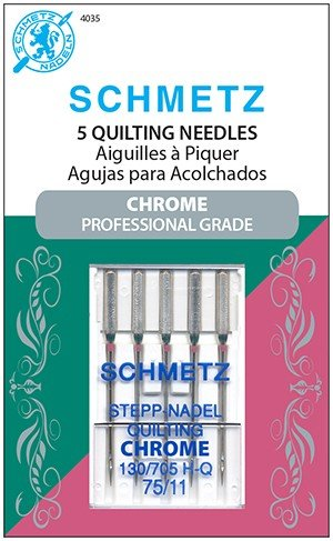 Schmetz Chrome Needles - Quilting 75/11