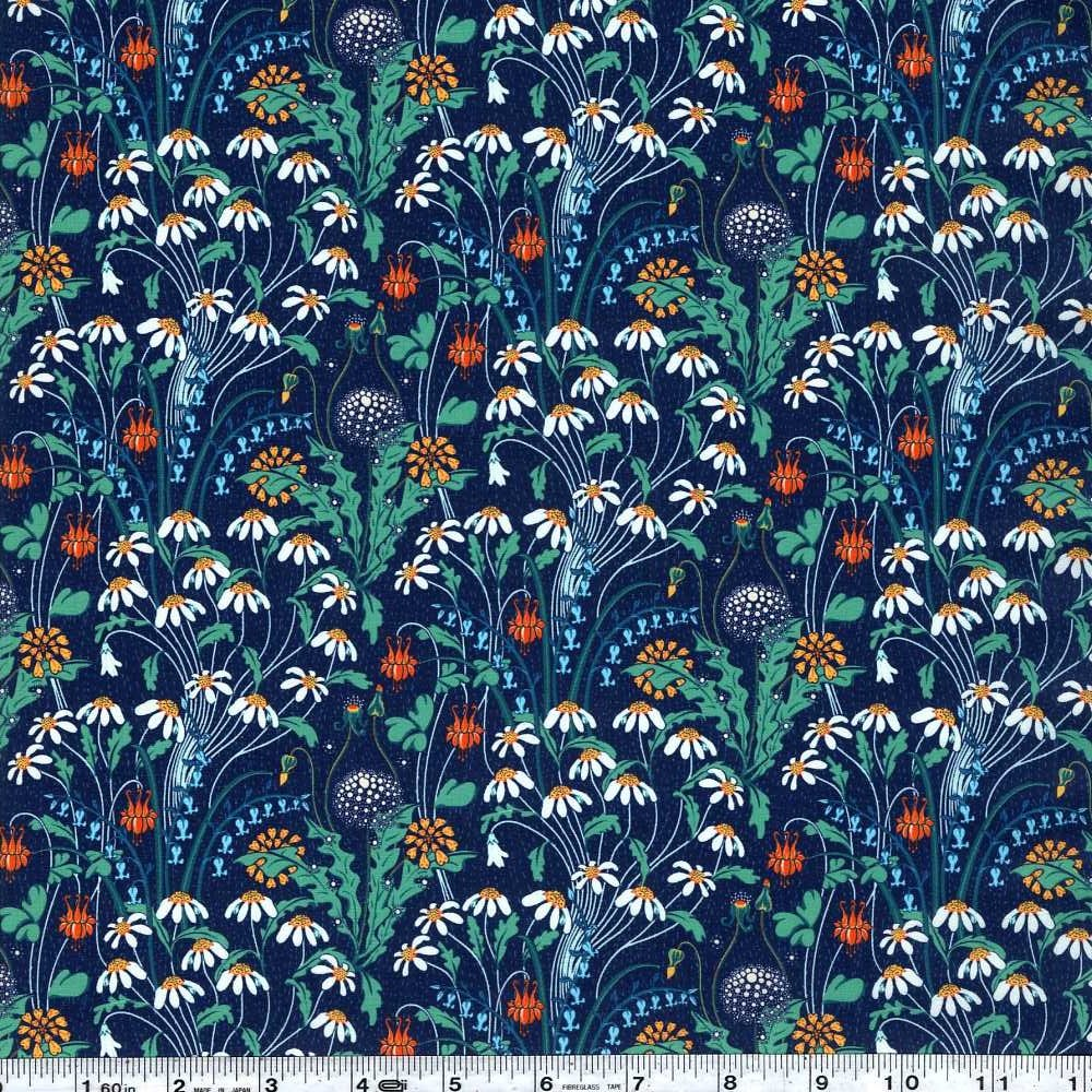 Liberty of London Tana Lawn - Alpine Pasture - Blue
