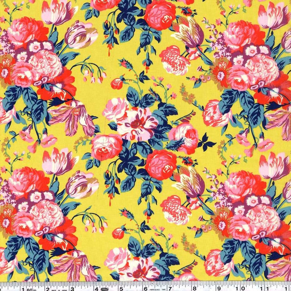 Liberty of London Tana Lawn - Magical Bouquet - Yellow