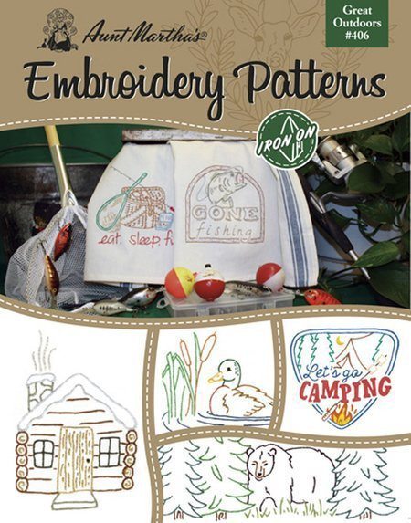 Aunt Martha's Embroidery Patterns - Great Outdoors