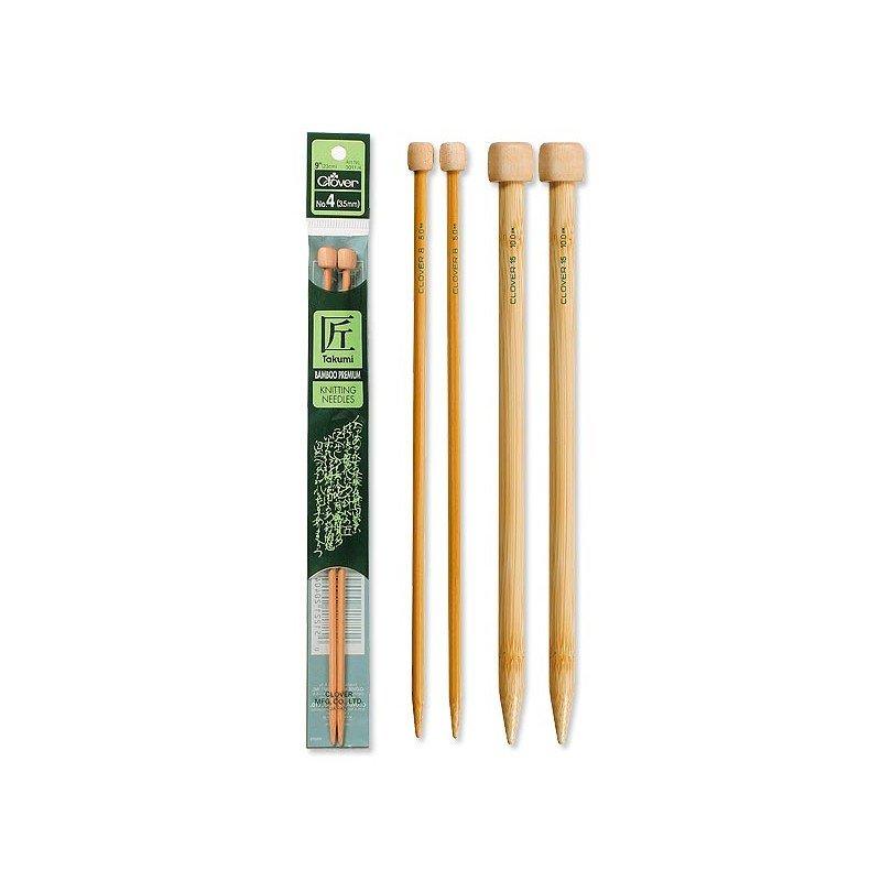Takumi Bamboo Knitting Needles - Single Pointed 9