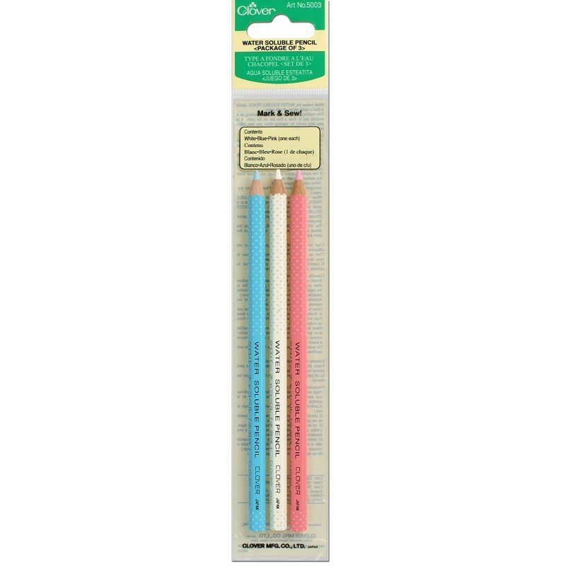 Clover Water Soluble Pencil - Set