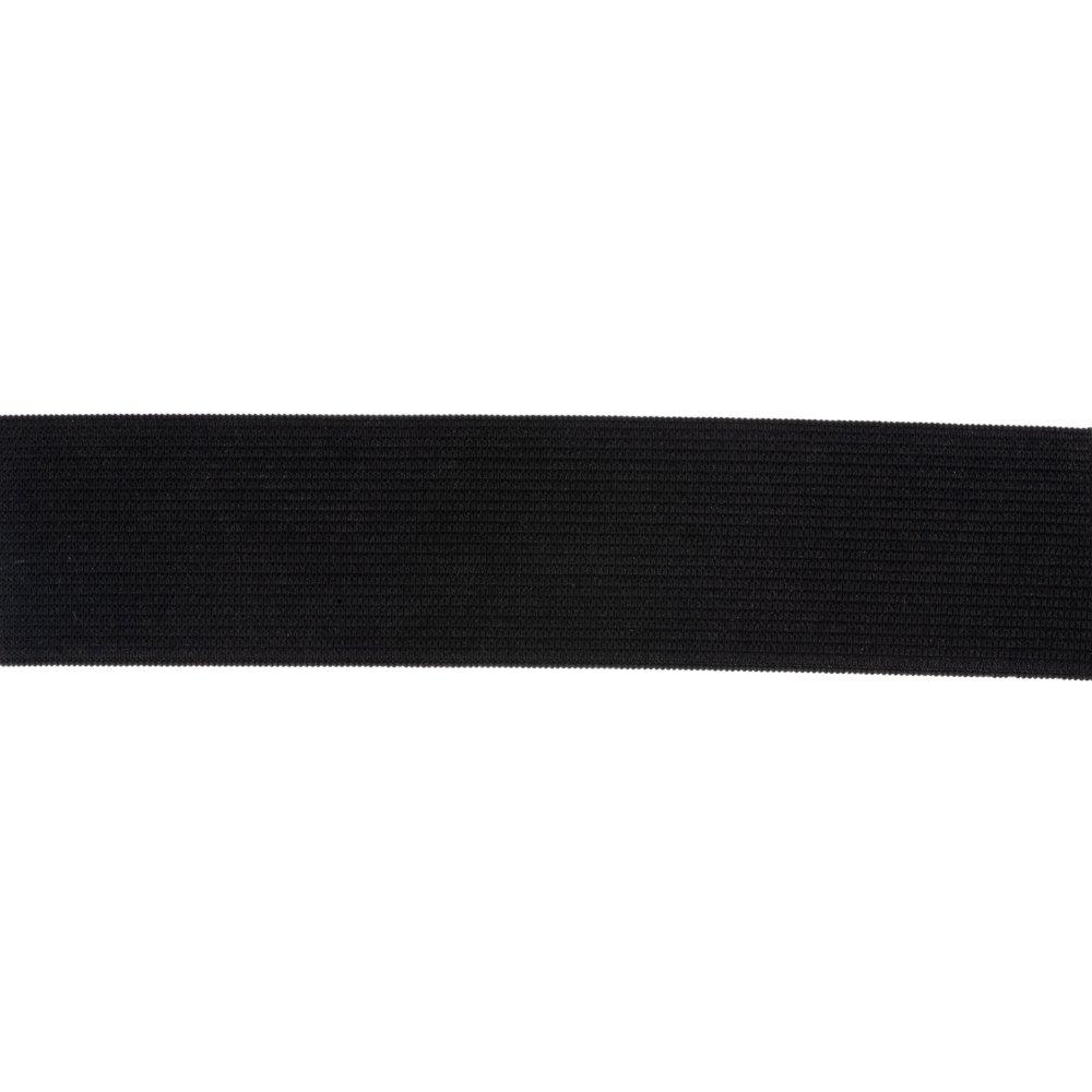 Elastic - 1 1/2 Heavy Stretch Waistband - Black