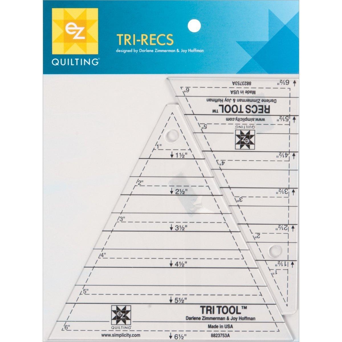 Ruler: Tri Recs Triangle Rulers