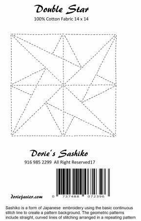 Dorie's Sashiko - Double Star