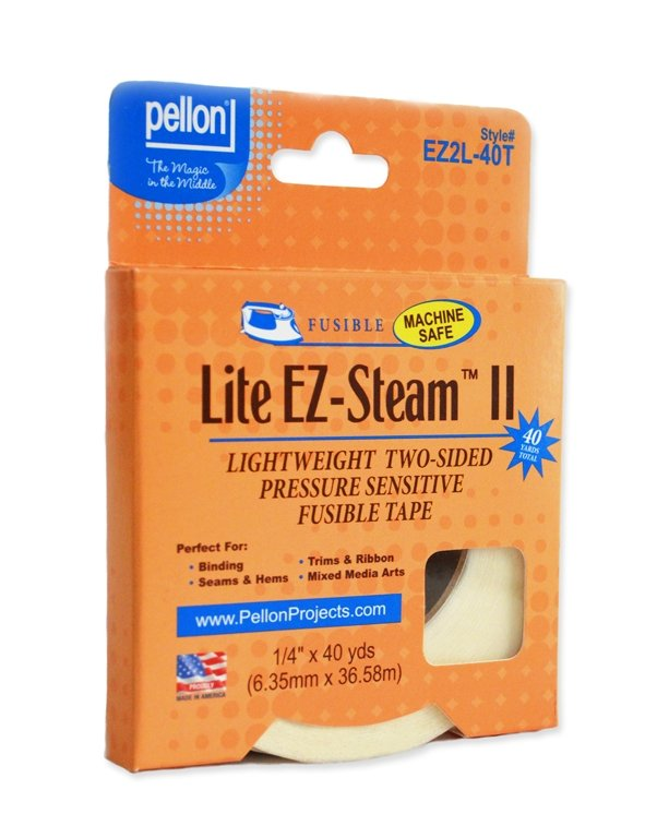 Pellon Lite EZ-Steam II Tape - 1/4 Wide