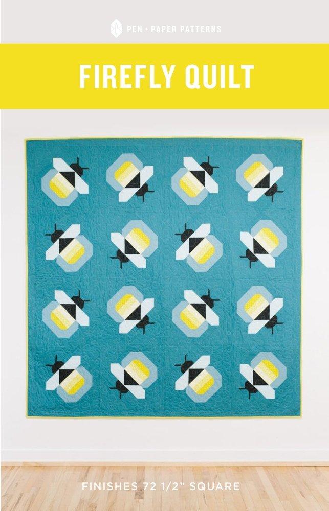 Pen + Paper Patterns - Firefly Quilt