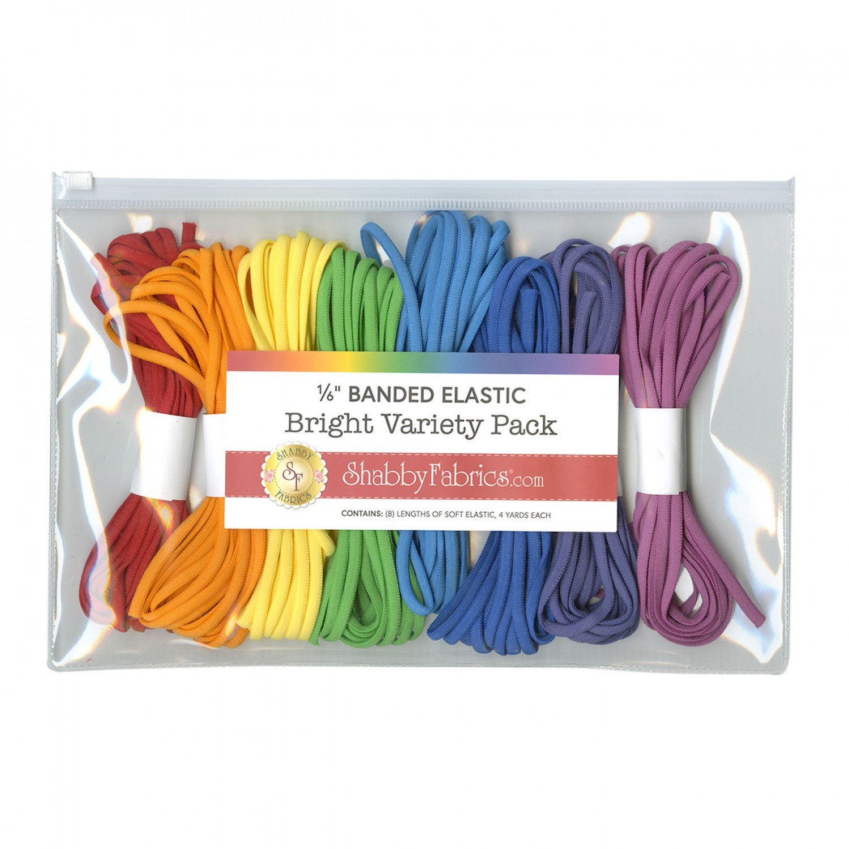 1/6 Banded Elastic Variety Pack