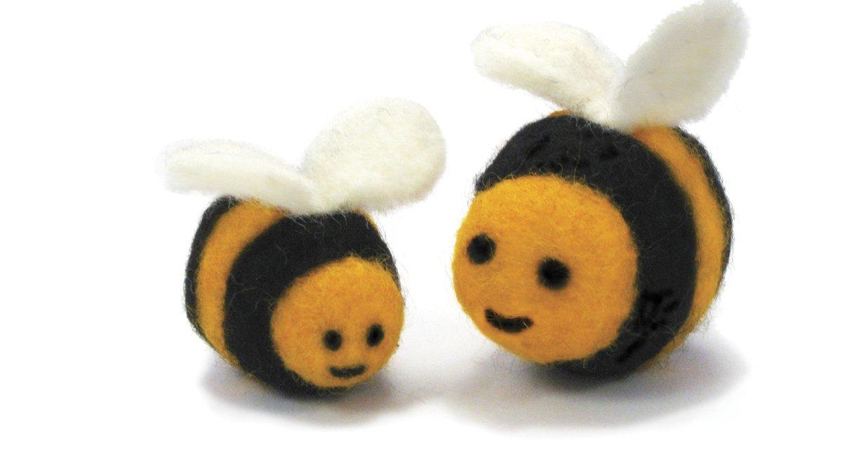Needle Felting Kit - Bee
